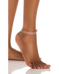 8 Other Reasons Queen Anklet - Mehrfarbig