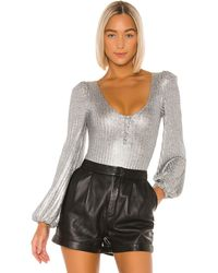 Tularosa Summer Bodysuit - Metallic