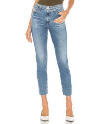 AG Jeans DROIT ISABELLE - Bleu