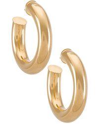Joolz by Martha Calvo Серьги-кольца Tubular В Цвете Золотой - Металлик