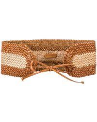 Zimmermann Cinturón en color bronce - Marrón