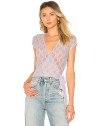 Only Hearts - Short Sleeve Wrap - Lyst