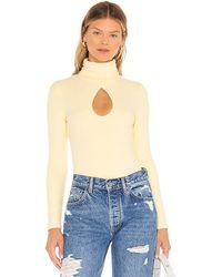 Kendall + Kylie Turtleneck Bodysuit - Multicolour