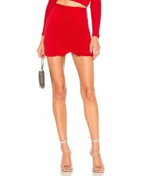 Lovers + Friends - Joseph Mini Skirt In Red - Lyst