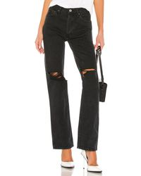 RE/DONE High Rise Loose - Black