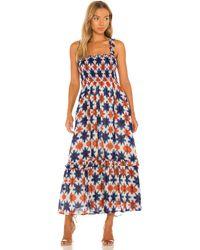 brand: Banjanan Dafina ドレス - ブルー