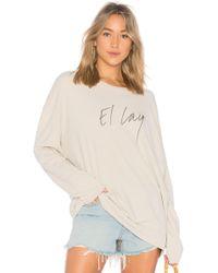 Raquel Allegra - El Lay Muscle Sweatshirt - Lyst