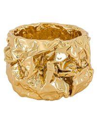 Amber Sceats Кольцо Capri В Цвете Золотой - Металлик