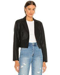 Blank NYC Укороченная Куртка В Цвете Truth Or Dare - Черный