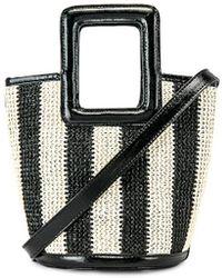Solid & Striped Pookie Crochet Tote - Schwarz
