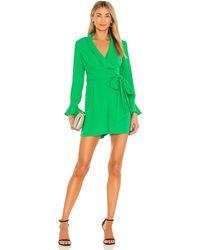 Diane von Furstenberg Ina ドレス In Green. Size 2. - グリーン