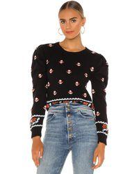 Tach Clothing Ninette セーター - ブラック