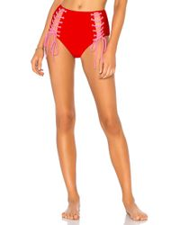 Lovers + Friends - Laced Bottom In Red - Lyst
