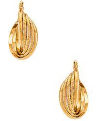 Amber Sceats Hoop Earring - Mettallic