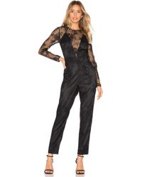 Lovers + Friends Nora Jumpsuit - Schwarz