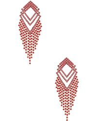Amber Sceats - X Revolve Angela Earrings In Red. - Lyst