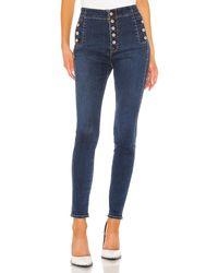 J Brand Natasha Sky High Skinny. Size 30. - Blau