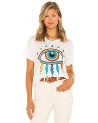 Lauren Moshi Wolf Tシャツ - ホワイト