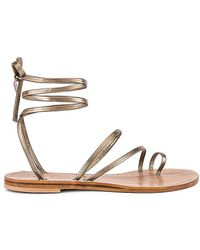 Cornetti Nurra Sandal - Metallic