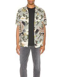 AllSaints Descent ショートスリーブシャツ - グレー