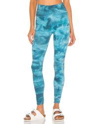 Free People X fp movement good karma tie dye legging - Azul