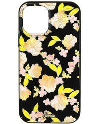 Sonix Чехол Для Iphone Magsafe Antimicrobial В Цвете Floral Fantasy Black - Черный