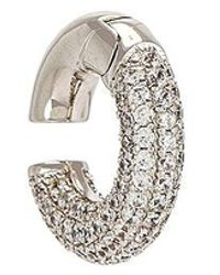 Luv Aj Pave Amalfi Ear Cuff - Metallic
