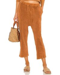 The Great The Microterry Pyjama Sweatpant - Brown