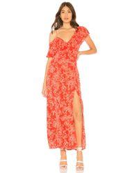 Amuse Society - Midnight Flower Dress In Red - Lyst