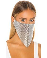 GRLFRND Face Mask - Metallic