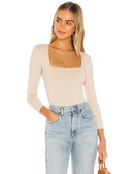 Free People - Truth Or Square ボディスーツ - Lyst