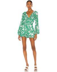 Alexis Ромпер Cerca В Цвете Изумрудный Цветочный - Green. Размер L (также В M,s). - Зеленый