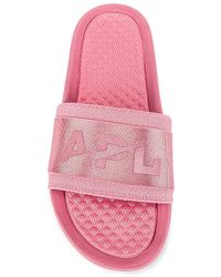 APL Shoes Шлепанцы Techloom Satin В Цвете Дамаск - Pink. Размер 5 (также В 6). - Розовый