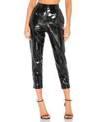 N°21 - Patent Skinny Pant In Black - Lyst