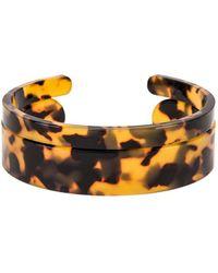 Shashi - Emma Lucite Cuff Bracelet Set - Lyst