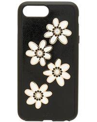 Sonix Swarovski Opal Daisy iPhone 6/7/ Plus Case - Schwarz