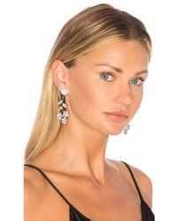 Jennifer Behr Violet Dangle Earrings - Mettallic