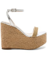 House of Harlow 1960 X Revolve Khloe Wedge - Natural
