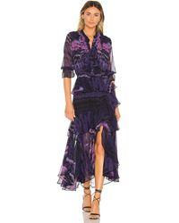 MISA Los Angles Alanis Dress - Purple