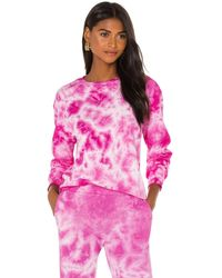 Monrow Crystal スウェットシャツ - ピンク