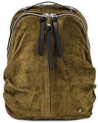 Rag & Bone Commuter Backpack - Suede Large Backpack - Multicolour