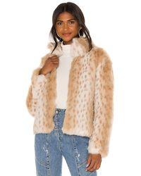 Unreal Fur - Куртка Wild В Цвете Снежный Леопард - Lyst