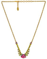 Elizabeth Cole Iva Necklace - Multicolor