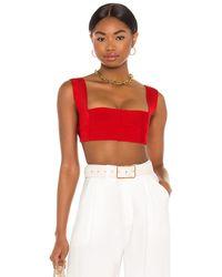 Haight Knit amanda top - Rojo