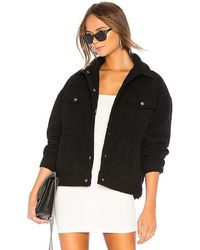 superdown Margot Oversized Jacket - Black