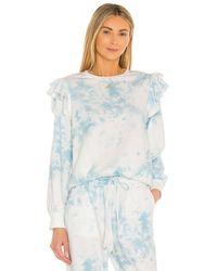 1.STATE Tie Dye スウェットシャツ - ブルー