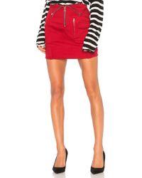 RTA - X Revolve Gisele Skirt - Lyst