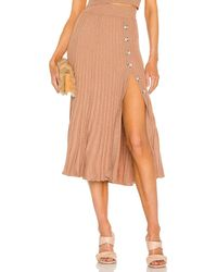 Bardot Pleat スカート - マルチカラー