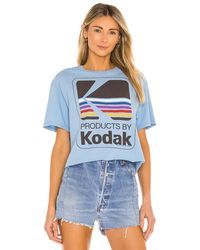 Junk Food Футболка Kodak В Цвете Синий