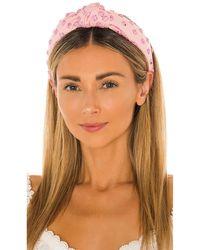 Lele Sadoughi Обруч Studded В Цвете Bubblegum Pink Splatter - Розовый